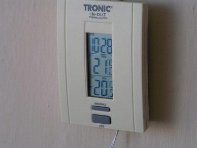 najnižšia teplota