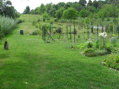 okrasná úžitková záhrada