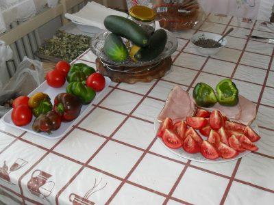 raňajky zo záhrady